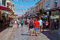 France, Vendée (85), Saint-Gilles-Croix-de-Vie, rue du General de Gaulle // France, Vendée, Saint-Gilles-Croix-de-Vie, General de Gaulle street