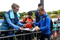 Alex Rodman of Bristol Rovers arrives at Adams Park for the Sky Bet League One fixture against Wycombe Wanderers - Mandatory by-line: Robbie Stephenson/JMP - 18/08/2018 - FOOTBALL - Adam's Park - High Wycombe, England - Wycombe Wanderers v Bristol Rovers - Sky Bet League One