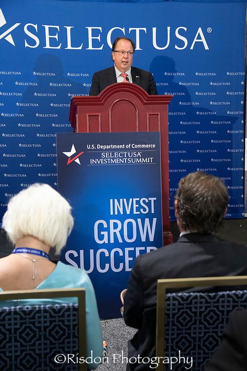 Luigi Lazzareschi at the Select USA 2018 Conference