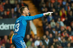 November 3, 2018 - Valencia, Valencia, Spain - Neto Murara of Valencia CF during the La Liga match between Valencia CF and Girona FC at Mestala Stadium on November 3, 2018 in Valencia, Spain (Credit Image: © AFP7 via ZUMA Wire)