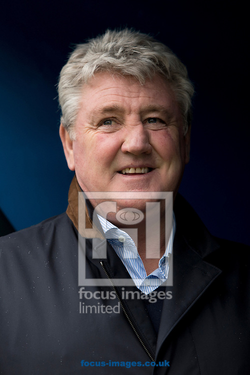 Hull City manager Steve Bruce before the FA Cup match at Gigg Lane, Bury<br /> Picture by Russell Hart/Focus Images Ltd 07791 688 420<br /> 30/01/2016