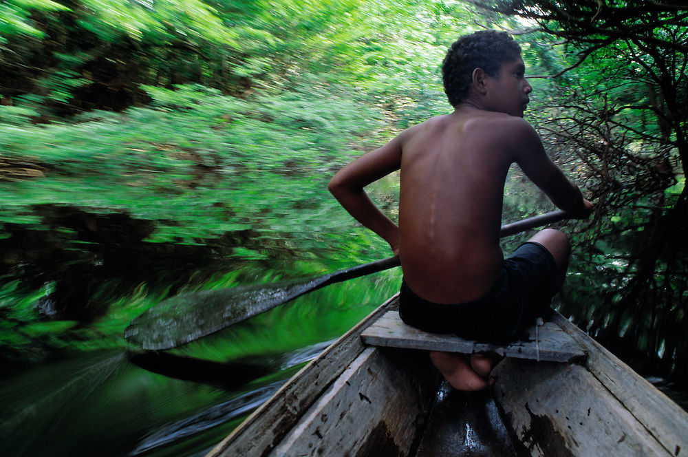 The Xixuau river area, 500km north west of Manaus, is a natural reserve.