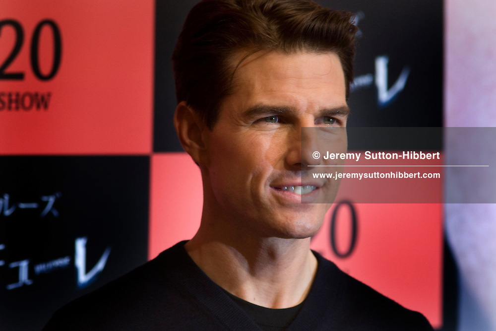 Tom Cruise at a photo-call to promote the movie 'Valkyrie', in Tokyo, Japan, Tuesday 10th March 2009.