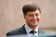 His highness prince Pieter-Christiaan of Oranje Nassau, of Vollenhoven and Ms drs. A.T. van Eijk get married Thursday 25 augusts in Palace the Loo in apeldoorn.<br /> <br /> <br /> Zijne Hoogheid Prins Pieter-Christiaan van Oranje-Nassau, van Vollenhoven en mevrouw drs. A.T. van Eijk treden donderdag 25 augustus in Paleis Het Loo te Apeldoorn in het huwelijk. <br /> <br /> On the photo/Op de foto:<br /> <br /> <br /> Mr.dr. J.P. Balkenende, minister-president