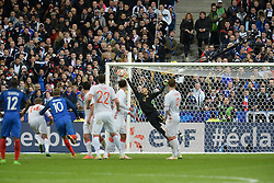 29.03.2016, Stade de France, St. Denis, FRA, Testspiel, Frankreich vs Russland, im Bild lodygin yury, // during the International Friendly Football Match between France and Russia at the Stade de France in St. Denis, France on 2016/03/29. EXPA Pictures © 2016, PhotoCredit: EXPA/ Pressesports/ Jerome Prevost<br /> <br /> *****ATTENTION - for AUT, SLO, CRO, SRB, BIH, MAZ, POL only*****