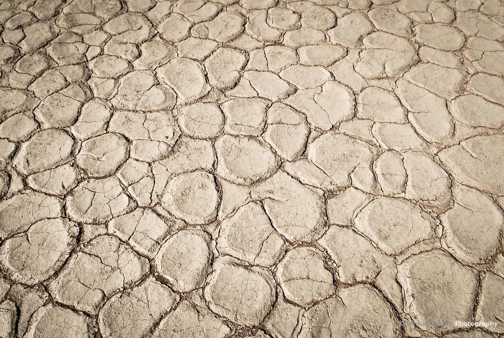 Clay Pan at Dead Vlei, near Sossusvlei, in the Namib-Naukluft National Park, Namib desert, Namibia