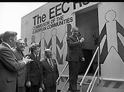 Roadshow EEC 03/07/1978 Frank Cluskey,  Garath Fitzgerald, Jack Lynch, Dick Burke