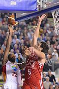 DESCRIZIONE : Roma Lega A 2014-15 Acea Roma EA7 Emporio Armani Milano<br /> GIOCATORE : Kyle Gibson<br /> CATEGORIA : Tiro penetrazione<br /> SQUADRA : Acea Roma<br /> EVENTO : Campionato Lega A 2014-2015<br /> GARA : Acea Roma EA7 Emporio Armani Milano<br /> DATA : 21/12/2014<br /> SPORT : Pallacanestro <br /> AUTORE : Agenzia Ciamillo-Castoria/G.Masi<br /> Galleria : Lega Basket A 2014-2015<br /> Fotonotizia : Roma Lega A 2014-15 Acea Roma EA7 Emporio Armani Milano