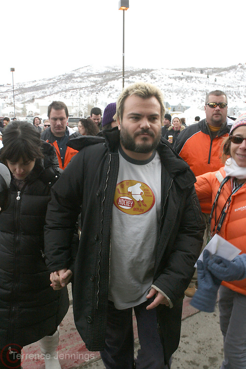 Jeff Black at the 2008 Sundance Film Festival held in Park, City Utah.