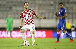 12.06.2015, Stadion Poljud, Split, CRO, UEFA Euro 2016 Qualifikation, Kroatien vs Italien, Gruppe H, im Bild Marcelo Brozovic // during the UEFA EURO 2016 qualifier group H match between Croatia and and Italy at the Stadion Poljud in Split, Croatia on 2015/06/12. EXPA Pictures © 2015, PhotoCredit: EXPA/ Pixsell/ Igor Kralj<br /> <br /> *****ATTENTION - for AUT, SLO, SUI, SWE, ITA, FRA only*****