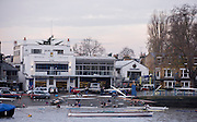 London, Great Britain, London Rowing Club boathouse, Putney Hard. 2014 Vesta Scullers Head, Championship Course Chiswick [Mortlake] to Putney. River Thames. Saturday  29/11/2014   [Mandatory Credit. Peter SPURRIER/Intersport Images.