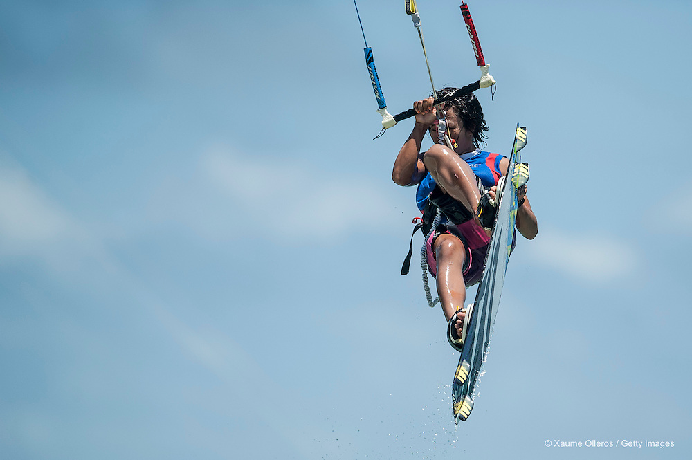 MAKATI, PHILIPPINES - MARCH 30:  Aya Oshima of Japan competes on freestyle during day five of the KTA at Boracay Island on March 30, 2013 in Makati, Philippines.  (Photo by Xaume Olleros/Getty Images) *** Local Caption *** Aya Oshima