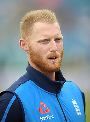 England's Ben Stokes during day three of the Second NatWest Test match at Headingley, Leeds.