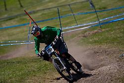 Davy Graham (IRL) of Junior Men category at MTB Downhill European Championships, on June 14, 2009, at Kranjska Gora, Slovenia. (Photo by Vid Ponikvar / Sportida)