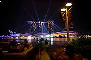 Singapore - Light Show at the Marina Bay Sands
