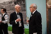 ALLEN JONES, WILL WYATT, 2019 Royal Academy Annual dinner, Piccadilly, London.  3 June 2019