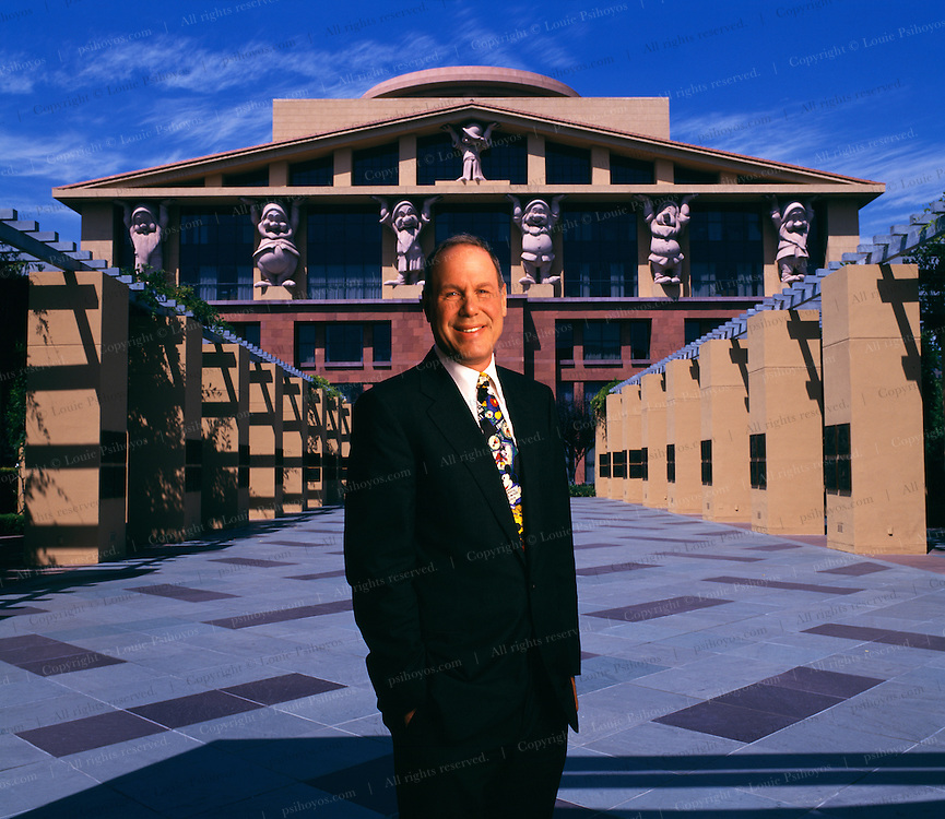 Michael Eisner #0005, CEO of the Walt Disney Company | Louie