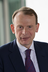 © Licensed to London News Pictures. 23/07/2017. LONDON, UK.  ANDREW MARR outside BBC Broadcasting House following the Andrew Marr Show.  Photo credit: Vickie Flores/LNP