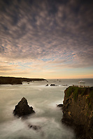 Mendocino Coastline Sunrise at Heritage House Resort, Little River, California<br />