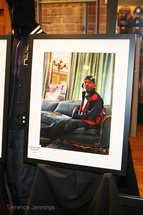 1 December 2010-New York, NY-  Photographs by Johnny Nunez at The New Era Launch of his Limited Edition 59Fitfty Cap and Launch of his Eye Can Foundation held at The New Era Flagship Store on December 1, 2010 in New York City. Photo Credit: Terrence Jennings