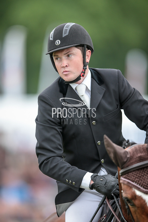 James Sommerville during the final jumping event at Bramham International Horse Trials 2016 at  at Bramham Park, Bramham, United Kingdom on 12 June 2016. Photo by Mark P Doherty.