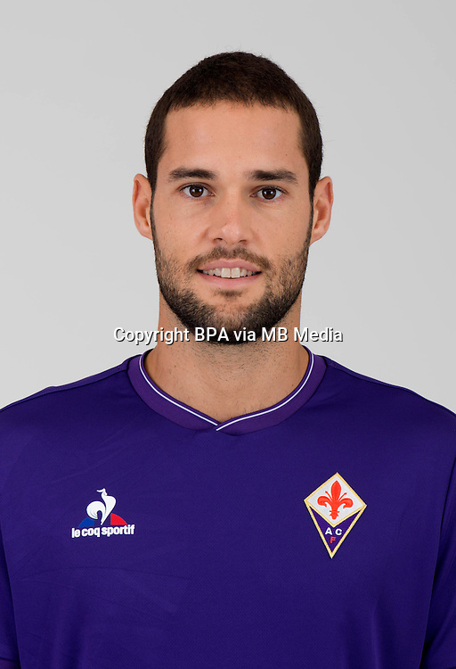 Italian League Serie A -2015-2016 / <br /> ( ACF Fiorentina ) - <br /> Mario Suarez Mata &quot; Mario Suarez &quot;