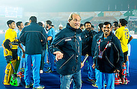 LUCKNOW (India) -   Junior World Cup hockey  U21 for men .  India v England (5-3) . Manager Roelant Oltmans (Ind) after the match  COPYRIGHT  KOEN SUYK