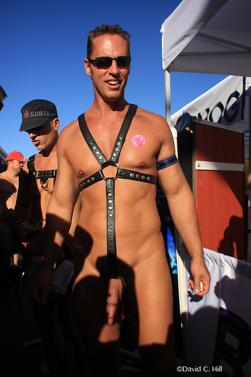 Folsom Street Fair - San Francisco Sunday September 26, 2010. Annual Leather Street Fair,