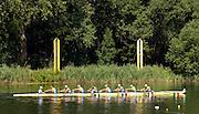 2006, U23 Rowing Championships, Hazewinkel, BELGIUM Friday, 21.07.2006. ITA BM8+, Photo  Peter Spurrier/Intersport Images email images@intersport-images.com....[Mandatory Credit Peter Spurrier/ Intersport Images] Rowing Course, Bloso, Hazewinkel. BELGUIM