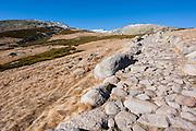 Stone path in Sierra de Gredos (Spain)
