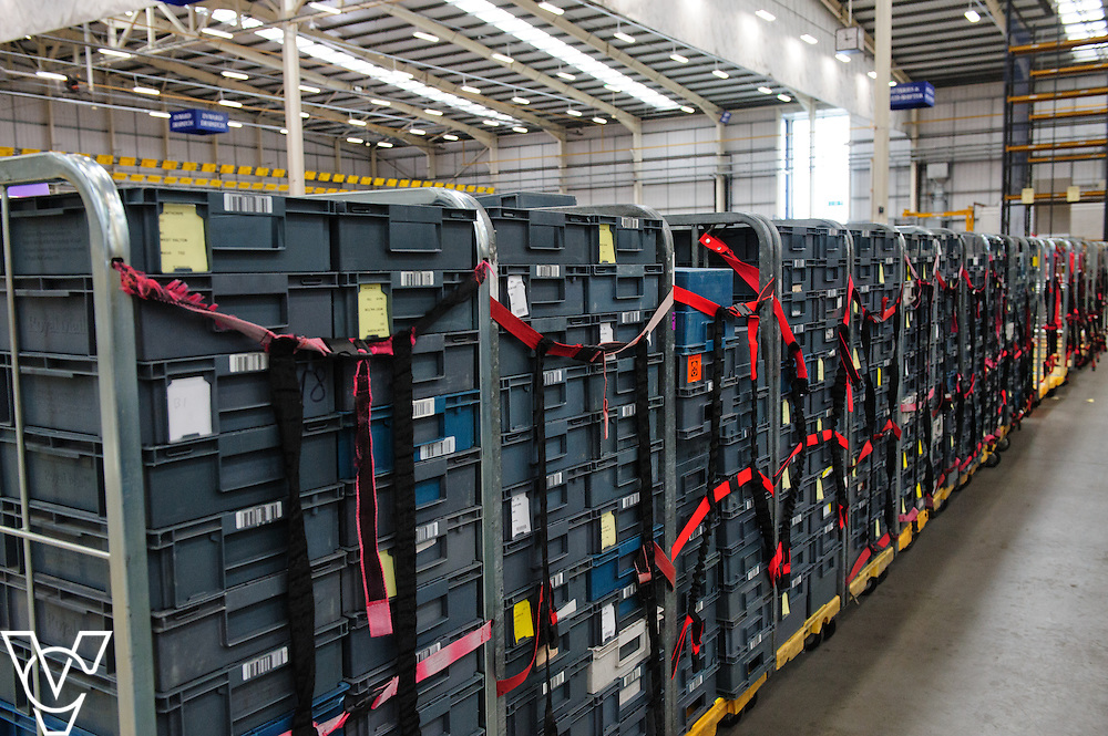Stock / generic images taken at the Royal Mail's Yorkshire Distribution Centre.<br /> <br /> Date: June 15, 2016