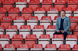WREXHAM, WALES - Monday, May 2, 2016: S4C's Dylan Ebenezer during the 129th Welsh Cup Final at the Racecourse Ground. (Pic by David Rawcliffe/Propaganda)
