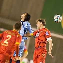 20140326: SLO, Football - Slovenian Cup, semifinals, NK Rudar vs ND Gorica