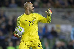 November 15, 2018 - Dublin, Ireland - Darrewn Randolph of Ireland in action during the International Friendly match between Republic of Ireland and Northern Ireland at Aviva Stadium in Dublin, Ireland on November 15, 2018  (Credit Image: © Andrew Surma/NurPhoto via ZUMA Press)