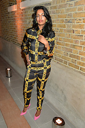 M.I.A. at the Future Contemporaries Party in association with Coach at The Serpentine Sackler Gallery, West Carriage Drive, Kensington Gardens, London on 21st February 2015.