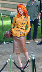Paloma Faith leaving the LFW: Burberry Prorsum - s/s 2014 catwalk show at Kensington Gardens, Kensington Gore in London, UK. 16/09/2013<br />