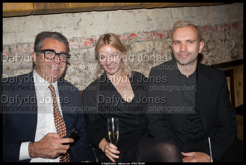 NATHALIE DJURBERG; HANS BERG, Lisson Gallery reception at Chiltern Firehouse after the openings of work by Marina Abramovic: White Space and Nathalie Djurberg & Hans Berg: The Gates of the Festival, 15 September 2014