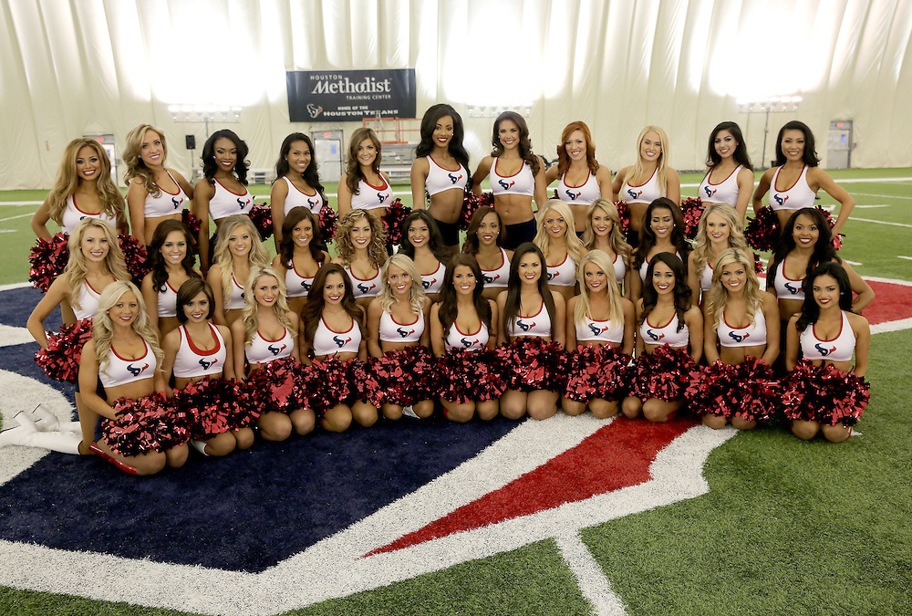 4/16/2014: Introducing the 2014-15 Houston Texans Cheerleading team.<br /> Fifty girls showed up on April 16, 2014 at the Houston Texans practice facility in Houston, Texas to see which 35 girls made the 2014-2015, Houston Texans Cheerleading Team.