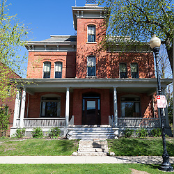 """Lake County jail at 232 S. Main St. in Crown Point Indiana. In 1934 John Dillinger escaped from the Lake County jail in this building. In 2008 Universal Studios filmed parts of the movie Public Enemies with Johnny Depp. The jail is open to the public for tours and goes past Dillinger's cell and also where filming was done. Crown Point is located in Northwest Indiana with a population of over 37,000. Crown Point and Lake County are about 50 miles from Chicago and are considered part of the """"Chicagoland"""" area. Crown Point has a traditional small town America feel with a main street consisting of the old Lake County Courthouse surrounded by numerous small businesses, known as """"the square"""", including a theater, ice cream shop, antique stores, and restaurants."""