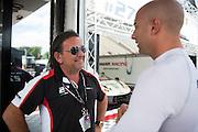 August 5-7, 2016 - Road America: #27 Enrico Bertaggia, Luca Persiani, Dream Racing, Lamborghini Huracán GT3