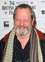 Terry Gilliam The Moet British Independent Film Awards, Old Billingsgate Market, London, UK, 05 December 2010:  Contact: Ian@Piqtured.com +44(0)791 626 2580 (Picture by Richard Goldschmidt)