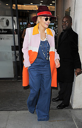 Singer Rita Ora and Nick Grimshaw leave BBC Radio 1 then go to the Chiltern Firehouse for beakfast this morning, London, UK. 20/10/2014<br />BYLINE MUST READ : GOTCHAIMAGES.COM<br /><br />Copyright by © Gotcha Images Ltd. All rights reserved.<br />Usage of this image is conditional upon the acceptance <br />of Gotcha Images Ltd, terms and conditions available at<br />www.gotchaimages.com