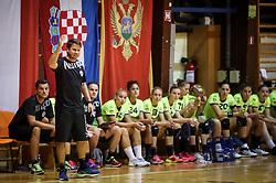 Uros Bregar, head coach of RK Krim Mercator during hanball match between RK Krim Mercator and ZRK Buducnost at 14th Vinko Kandija Memorial, on August 19, 2017 in Sportna dvorana Krim, Ljubljana, Slovenia. Photo by Matic Klansek Velej / Sportida
