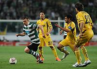 20120329: LISBON, PORTUGAL - Football - UEFA Europe League 2011/2012 - Quarter-finals, First leg: Sporting CP vs Metalist<br />In picture: Sporting's Marat Izmailov, from Russia.<br />PHOTO: Alvaro Isidoro/CITYFILES