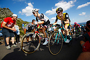 Wilco Kelderman (NED, Team Sunweb) and Steven Kruijswijk (NED, Team LottoNL - Jumbo) during the 73th Edition of the 2018 Tour of Spain, Vuelta Espana 2018, Stage 13 cycling race, Candas Carreno - La Camperona 174,8 km on September 7, 2018 in Spain - Photo Luca Bettini / BettiniPhoto / ProSportsImages / DPPI