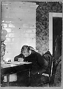 Igor Stravinsky, 1882-1971, Russian composer, pianist and conductor, at work, photograph, c. 1902. Copyright © Collection Particuliere Tropmi / Manuel Cohen