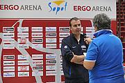 Danzica - Polonia 05 Agosto 2012 - TORNEO INTERNAZIONALE SOPOT CUP - Allenamento<br /> Nella Foto : SIMONE PIANIGIANI<br /> Foto Ciamillo