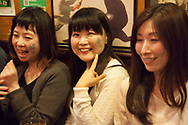 March 17, 2017, Tokyo, Japan: At all Irish pubs across the city including this one, Dubliner's in Tokyo's Shinjuku district, St. Patrick's Day revelers celebrated this day in full force. As Tokyo is home to a number of Irish and UK themed pubs, St. Pat's day is now embraced by the Japanese and celebrated not only in Tokyo but across the country. This is the result of years of promoting by the Irish ex-pat community, the Irish embassy, and most of all Guinness which has established a major footing within the Japanese beer market. Other events that take place in Tokyo during St. Pat's week include a big parade, Irish cultural festival and society ball. (Torin Boyd/Polaris).