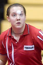 Nina Pavlin of Slovenia at 10th Slovenian Open Table Tennis Championships - Pro Tour Velenje Slovenian Open tournament, in Round 1, on January 15, 2009, in Red sports hall, Velenje, Slovenia. (Photo by Vid Ponikvar / Sportida)