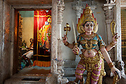 Little India. Serangoon Road, Sri Veeramakaliamman Kali temple.